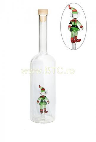 Sticla elful lui Mos Craciun