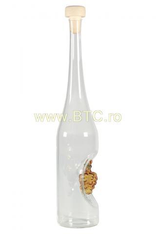 Sticla detaliu strugure