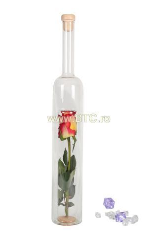 Sticla trandafir