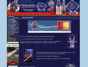 sticla personalizata